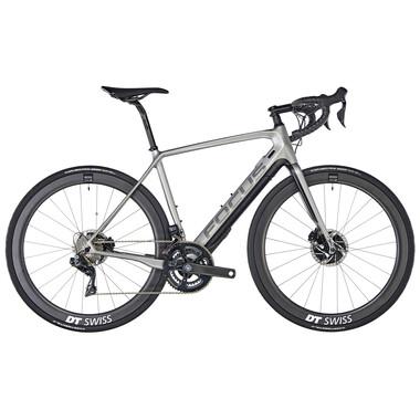 Bicicleta de Gravel eléctrica FOCUS PARALANE² 9.9 Shimano Dura Ace Di2 9150 36/52 Plata 2020